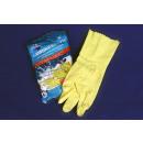 groothandel Reinigingsproducten: Mr. Cleaner  Rubberhandschoenen L-formaat, binnen o