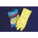 groothandel Reinigingsproducten: Mr. Cleaner  Rubberhandschoenen maat M, binnen opge