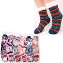Großhandel Strümpfe & Socken: Frauen dicke Socken mit Fell, ABS, 4928