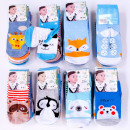 wholesale Childrens & Baby Clothing: Baby Socks, cotton, Mix of Patterns, 0-24, 4852
