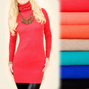 Cashmere Dress with a Golf, Sweater S-XL, 4878