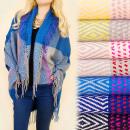 grossiste Mercerie et couture: C17284 Tricots  extensifs en  laine, en plaid, ...