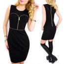 Großhandel Kleider: C24200 Wonderful, Schwarzes Kleid, Glamouröse Pail