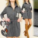 wholesale Shirts & Blouses: BI232 LOOSE TUNIC, SHIRT STYLE, EMBLEMS