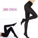 wholesale Stockings & Socks: Black Matt Opaque Tights, Opaque, 280 DEN 4964