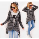 Großhandel Pullover & Sweatshirts: BI767 Sweatshirtjacke, Kapuzenjacke, Moro