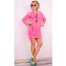 Großhandel Fashion & Accessoires: A812 Sweatshirt Damen Kleid, Feminine Linie