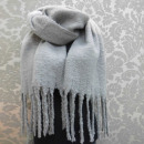 wholesale Cushions & Blankets: A1807 Big Scarf - blancket , Fluffy Plaid XXL