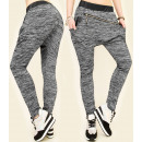 wholesale Sports & Leisure: 4422 Loose Sweatpants, Latex and Diagonal Slider
