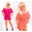 BB176 Summer Women  Set Top + Tunic, Dress