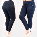 Großhandel Hosen: C17649 Komfortabel, Damenhose, Übergröße