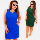 BI801 Pencil Plus Size Dress up to 54, Lace