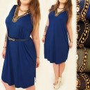 wholesale Fashion & Apparel: A1940 Elegant,  Loose Dress, Large Sizes, Sequins