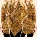 wholesale Scarves & Shawls: C17289 Large Scarf, Shawl, Nice Pattern: leopard