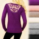 wholesale Pullover & Sweatshirts: C17268 Showy  Sweater, Beautiful Lace on the Back