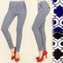 Großhandel Hosen: BI458 Wirksame Hosen, Tubes, Geometric Pattern