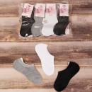 Großhandel Strümpfe & Socken: 4557 Classic Damen Socken, Füße, 35-42