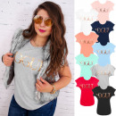H116 Cotton Blusa, Camisa de mujer, Golden Vogue
