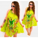 Großhandel Kleider: H1305 Kleid, Plus Size, Fabulous Butterfly