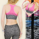 4081 GYM BRA, TOP voor fitness, SEXY SLIDER