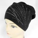 wholesale Headgear: CZ11 Warm Women Cap, Winter Hat, Silver Jets