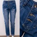 Großhandel Hosen: B16846 Loose, Damen Jeans Hosen, Boyfriend