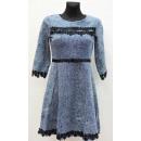 Großhandel Kleider: B522 Kleid der  Frauen, VT-16081, M bis 3XL