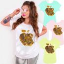 Großhandel Hemden & Blusen: 4496 Baumwollbluse, Spitze, Goldener ...