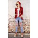 wholesale Pullover & Sweatshirts: D1403 Women Hoodie  Oversize, Loose Cape, Outfit