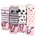 wholesale Fashion & Apparel: Girls socks, Funny Animals, 23-38, 5355