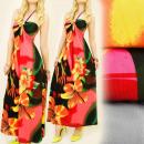 Großhandel Kleider: C17139 Nettes Kleid, schöne Halskette, Paradies