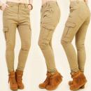 ingrosso Pantaloni: Pantaloni di  cotone B16429, le milizie TRENDY, BE