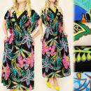 wholesale Dresses: 4101 FANTASTIC  DRESS, MAXI  LENGTH,TROPICAL ...