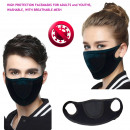 wholesale Facial Care: Protective Mask with Mesh, Sporty, D5885