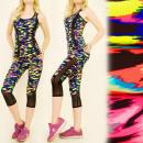 FL477 Set Top + Leggings, Fitness, Jogging 3/4
