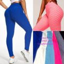 Großhandel Sportbekleidung: Damen Push Up Leggings, Sportlich, S-XL, ...