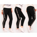 wholesale Sports & Leisure: Sports leggings, fitness, black M-2XL 5195