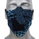 Gesichtsschutzmaske, Blaupause, Gummiband