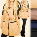 wholesale Coats & Jackets: A28158 Long  Jacket, Hooded Coat, Eco Leather