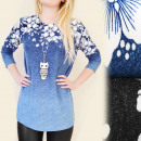 wholesale Fashion & Mode: C11141 LOOSE  BLOUSE, TUNIKA,  MODEL 3D FLOWER ...
