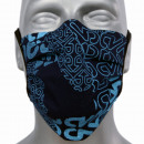Großhandel Drogerie & Kosmetik: Schutzmaske, Baumwolle Blaupause, Gummi, ...
