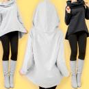 hurtownia Fashion & Moda: Bluza Damska M-XL, Długa i ciepła, Kaptur, 5609
