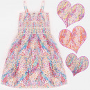 grossiste Vetements enfant et bebe: A19118 Robe pour fille, paillettes, 4 - 12