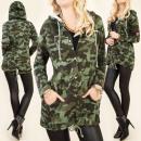 groothandel Kleding & Fashion: BI546 Loose Moro  Sweatshirt, Modieus Jacket