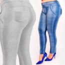 Großhandel Hosen: C17634 Abnehmen der Frauenhosen, große Größenjeans