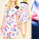 Großhandel Kleider: C17121 leichtes Kleid, romantisches ...