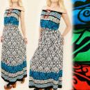 El estilo griego LONGITUD MAXI C1747 vestido suelt