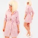 Großhandel Kleider: R80 gebundenes Kleid, lose Tunika, ...