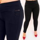 D26134 Elegant Women Pants, Large Sizes Up 6XL
