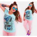 Großhandel Fashion & Accessoires: G1205 Baumwolle Frauen T-Shirt , Top, Chic Fashina